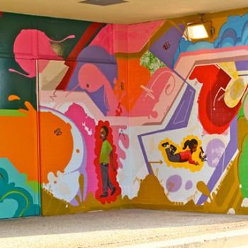 MuralsDC | 2010 | Malcolm X Elementary School
