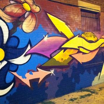 Mural 1   15th & Girard Street N.W. (mural repair)