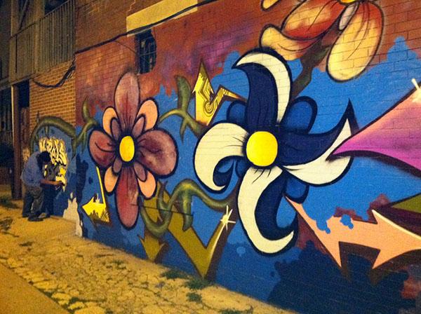 Mural 1 | 15th & Girard Street N.W. (mural repair)