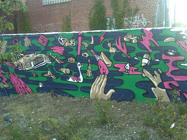 Mural 3 | Metro Branch Trail, Rhode Island Ave. N.E.