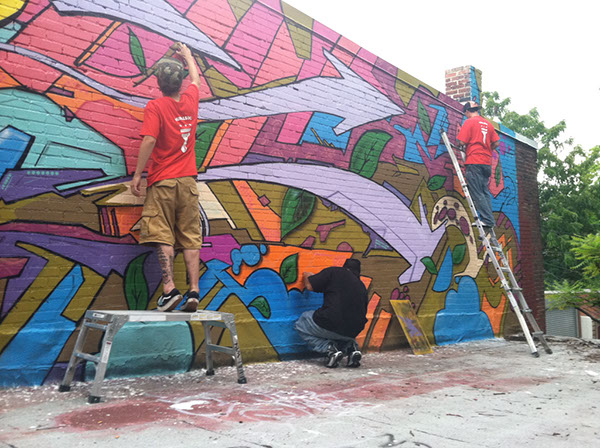 Mural 7 | Bloom Bars, 3222 11th Street, NW