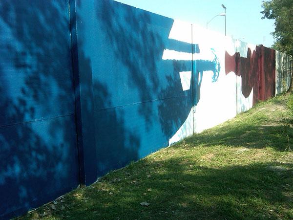 Mural 8 | D.P.W., 4900 McCormack Drive, NE*