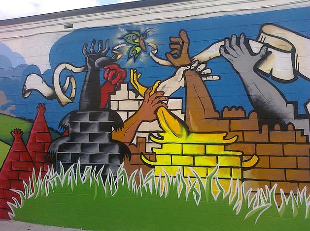 WKN/murals15. Metamorphosis - 615 Division Ave. NE